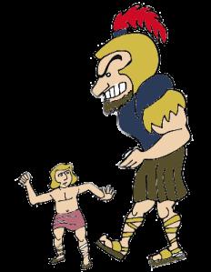 David and Goliath