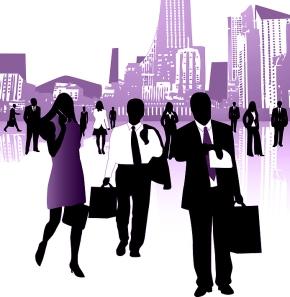 Purple corporate